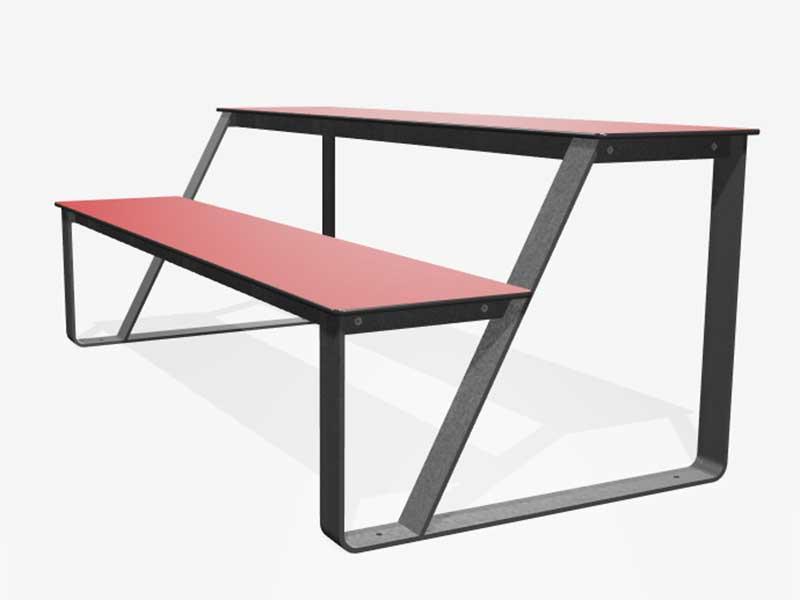Bibi picknicktafel - ook 2 tafels tegen elkaar te plaatsen