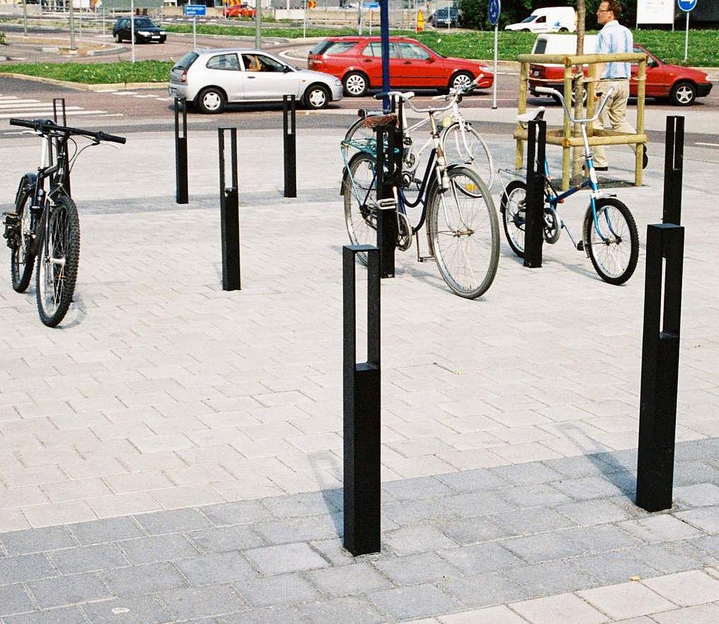 Blenda fietsbeugel - Slanke, ruimtebesparende beugel
