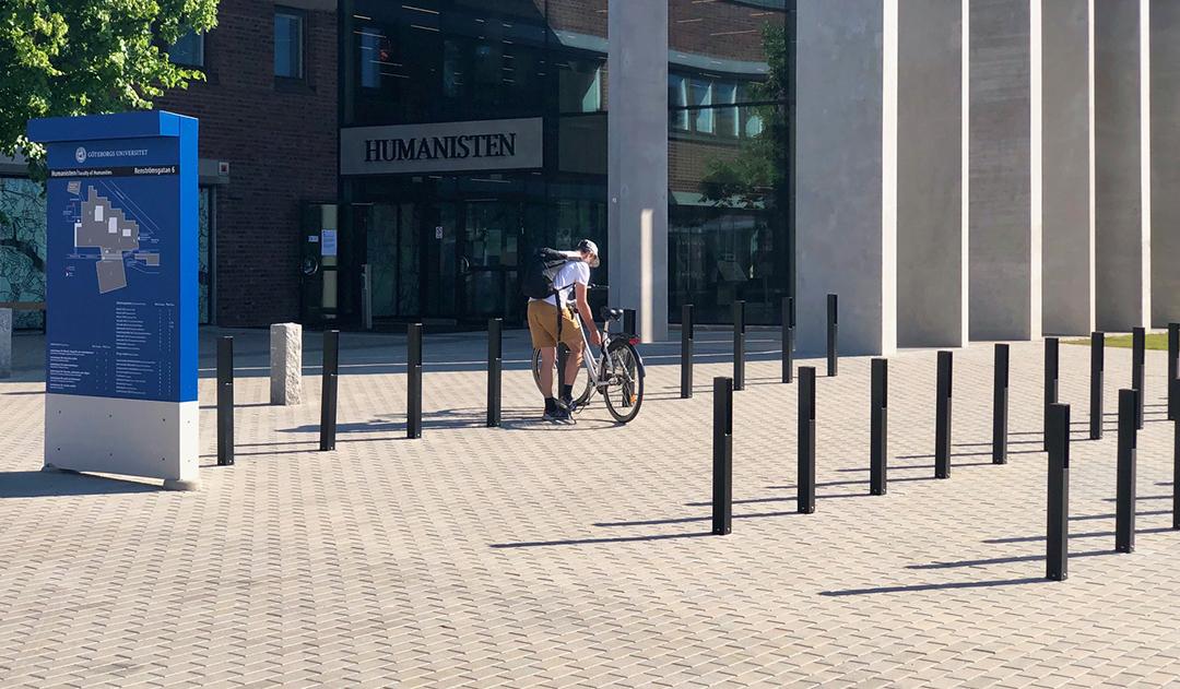 Blenda fietsbeugel geschikt voor kantoren of praktijken