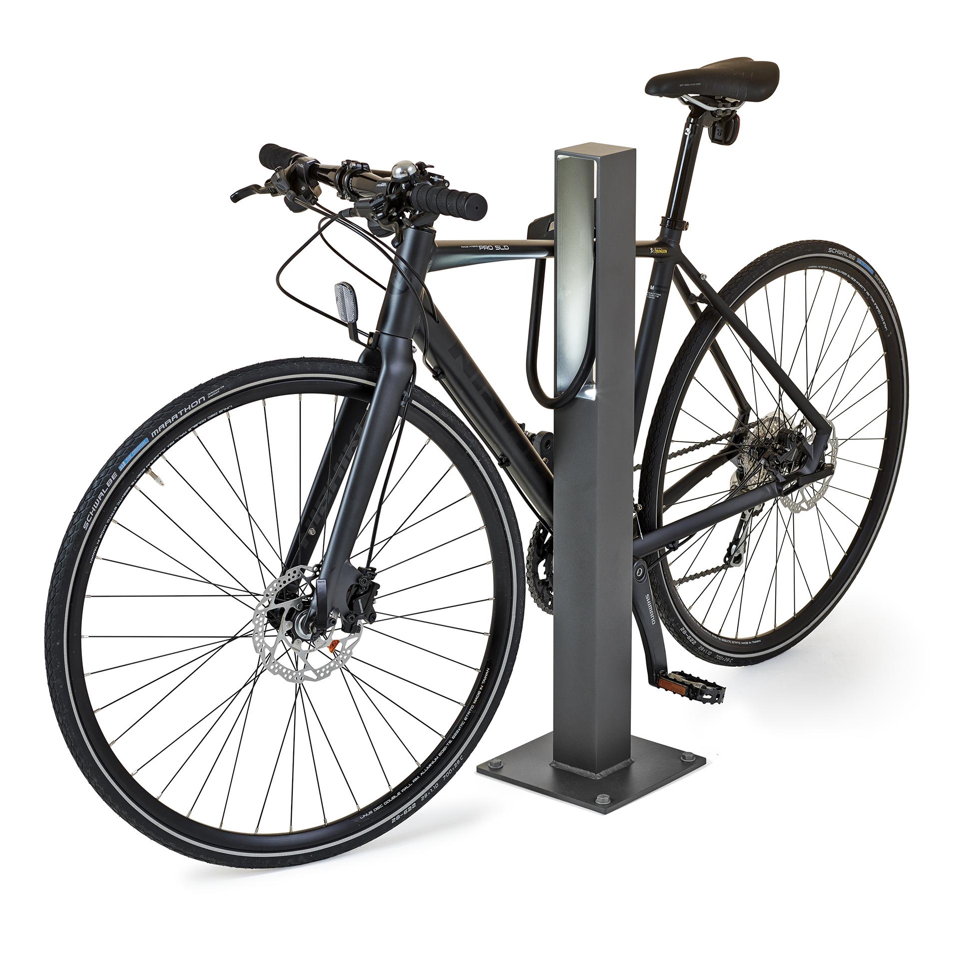 Blenda fietsbeugel kent een strak en modern design