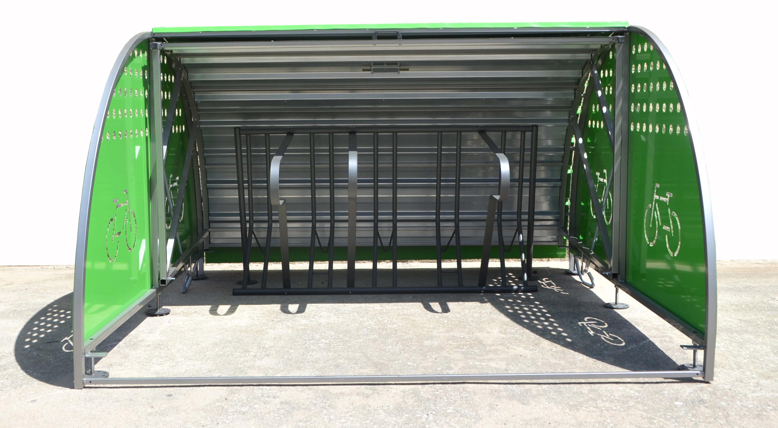 Box modulaire fietskluis