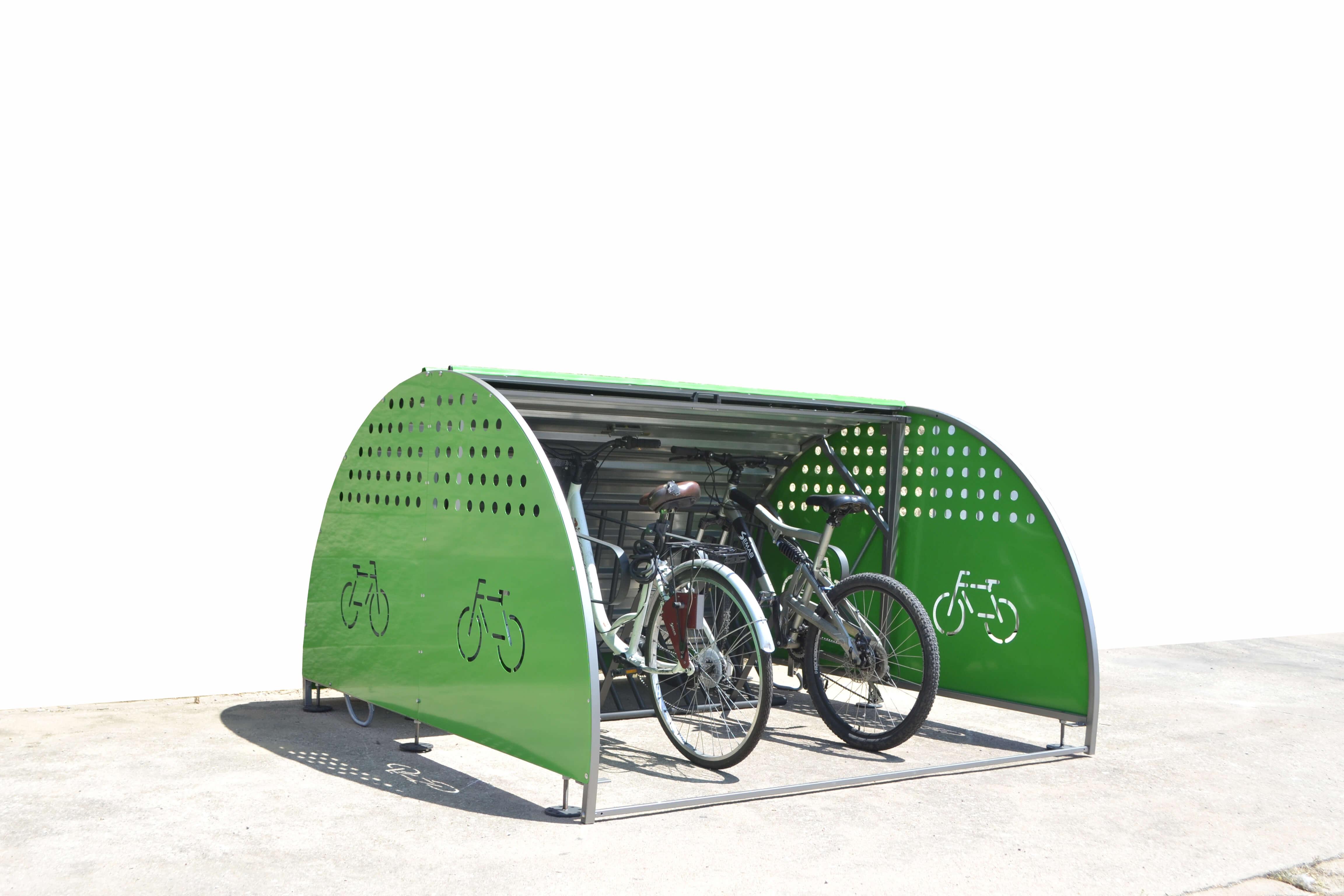Box modulaire fietskluis - handig om de fiets op te bergen