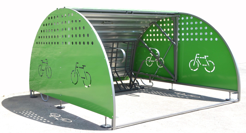 Box modulaire fietskluis - bescherming tegen diefstal en weersinvloeden