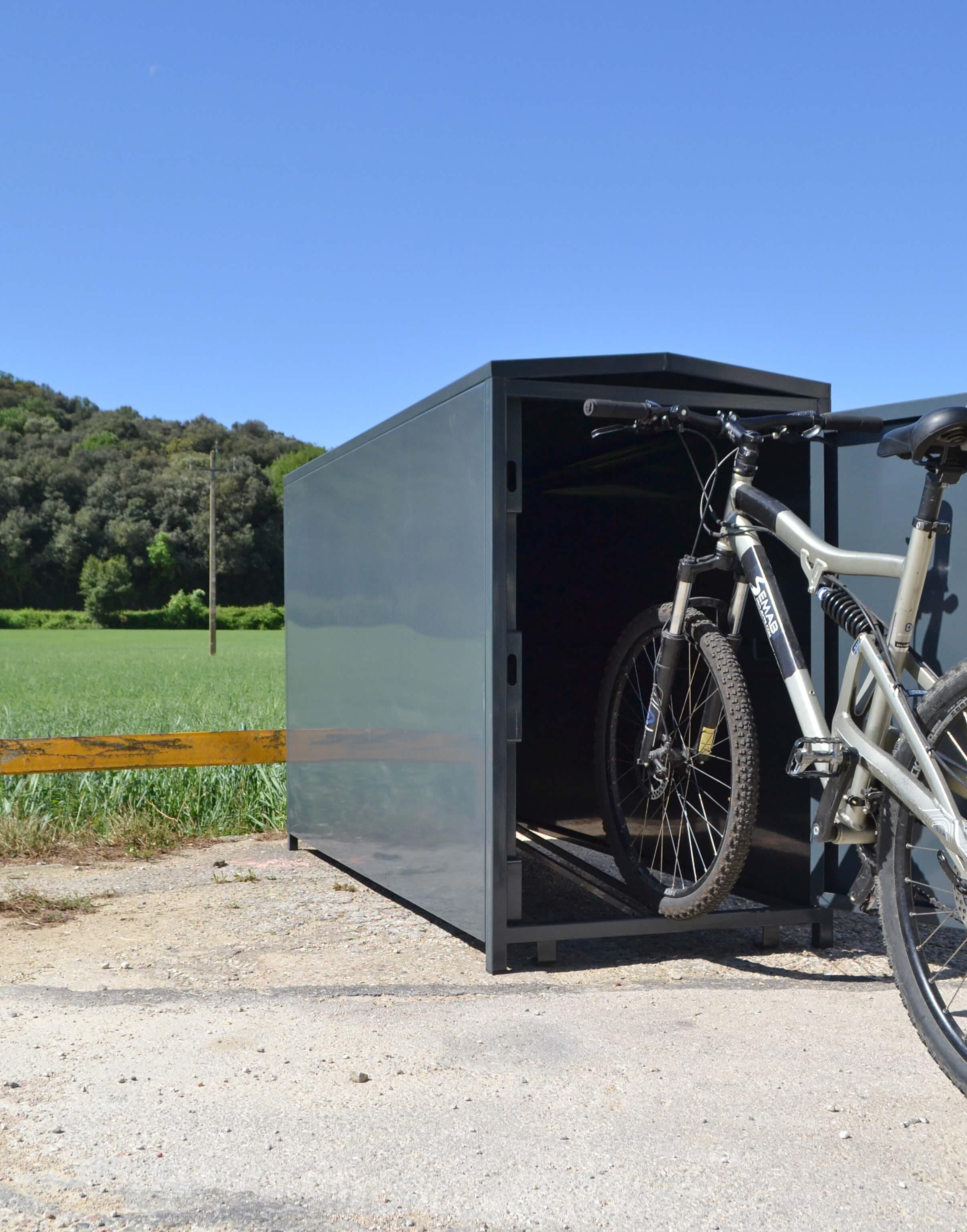 Box fietskluis - geschikt voor ieder type fiets