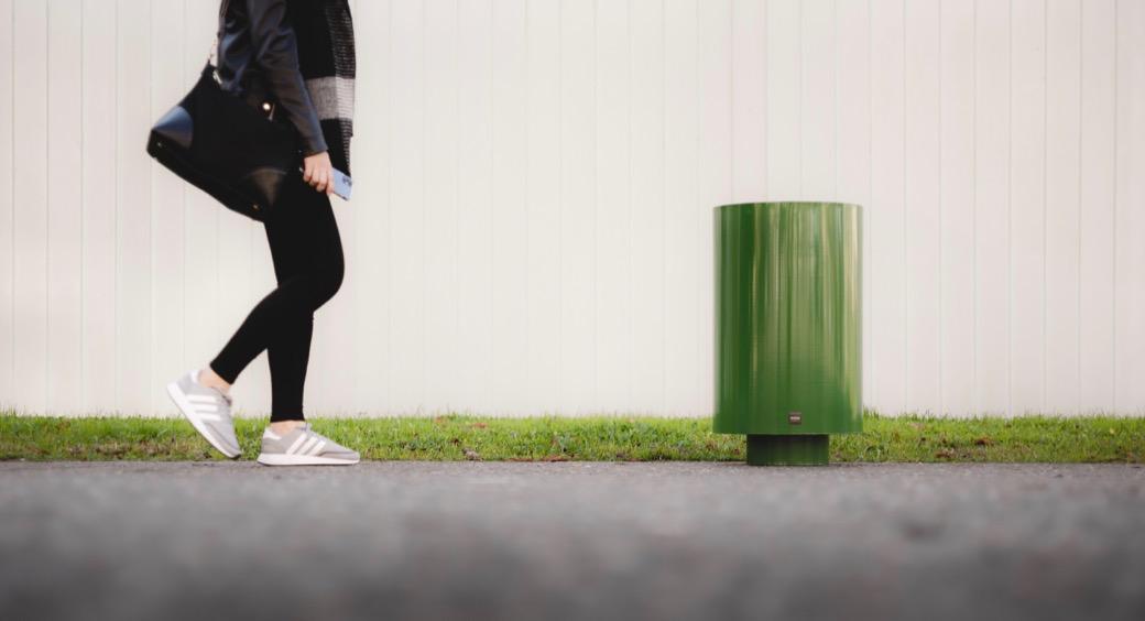 Cilar afvalbak - rondvormige inwerp