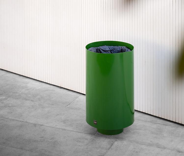 Cilar afvalbak - groen