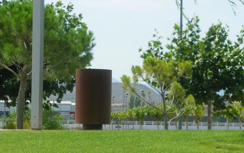 Cilar afvalbak is geschikt voor elke buitenruimte