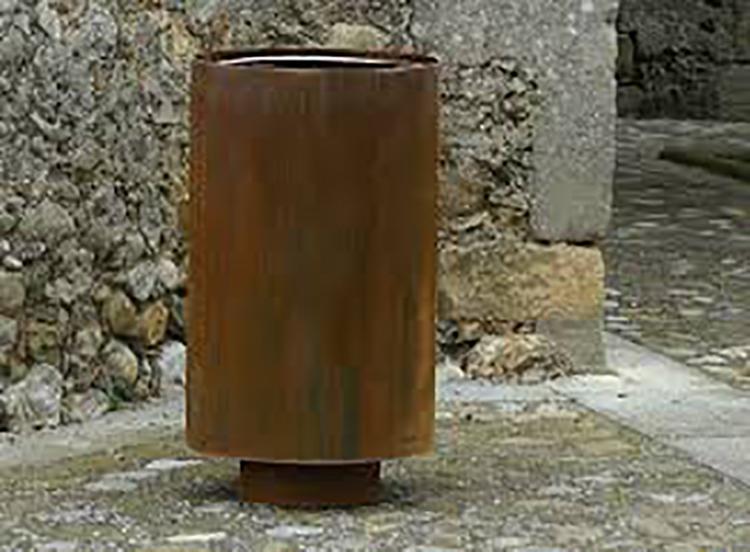Cilar afvalbak modern design dat uitnodigt de omgeving schoon te houden