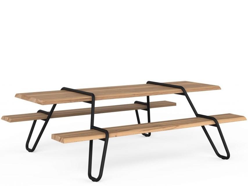 Clip-Board Picknicktafel