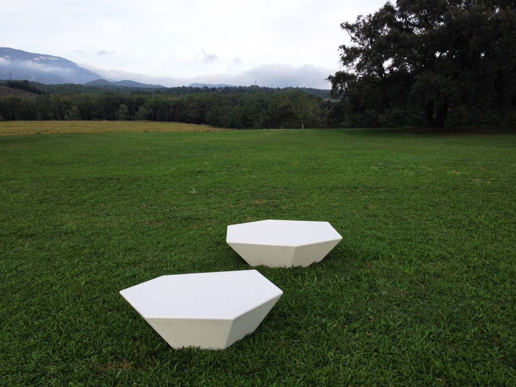 Cristal zitelement perfect voor parken en buitenruimtes