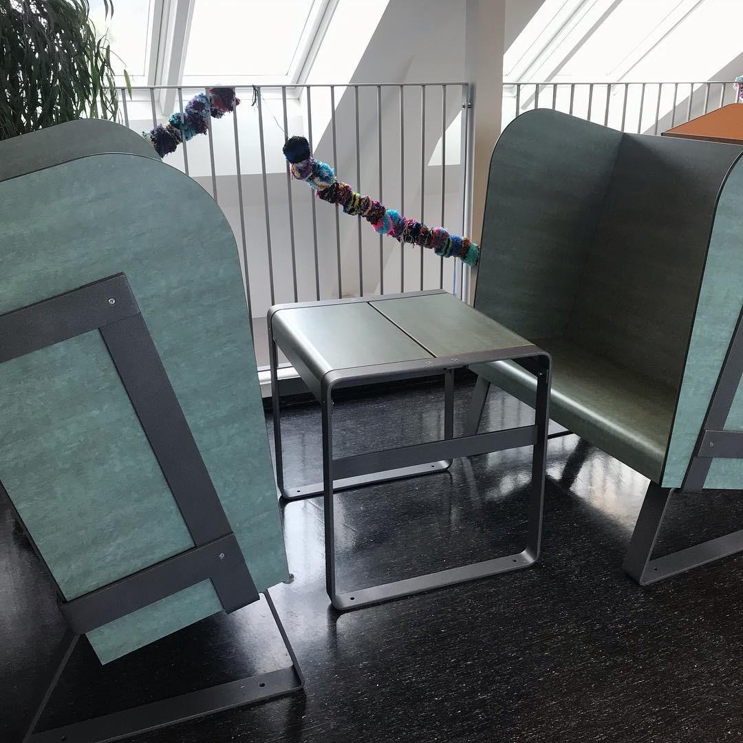 Eiland stoel - Akoestische stoel voor een stille en rustgevende ruimte