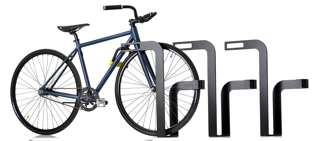 Ekeberg Fietsenrek - Stijlvol en klassiek ontwerp in de kleur zwart