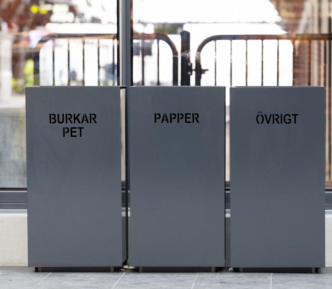 Foga afvalbak nodigt uit om afval te scheiden
