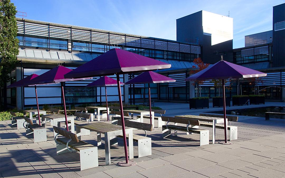 Four Seasons parasol beschikbaar in verschillende kleuren