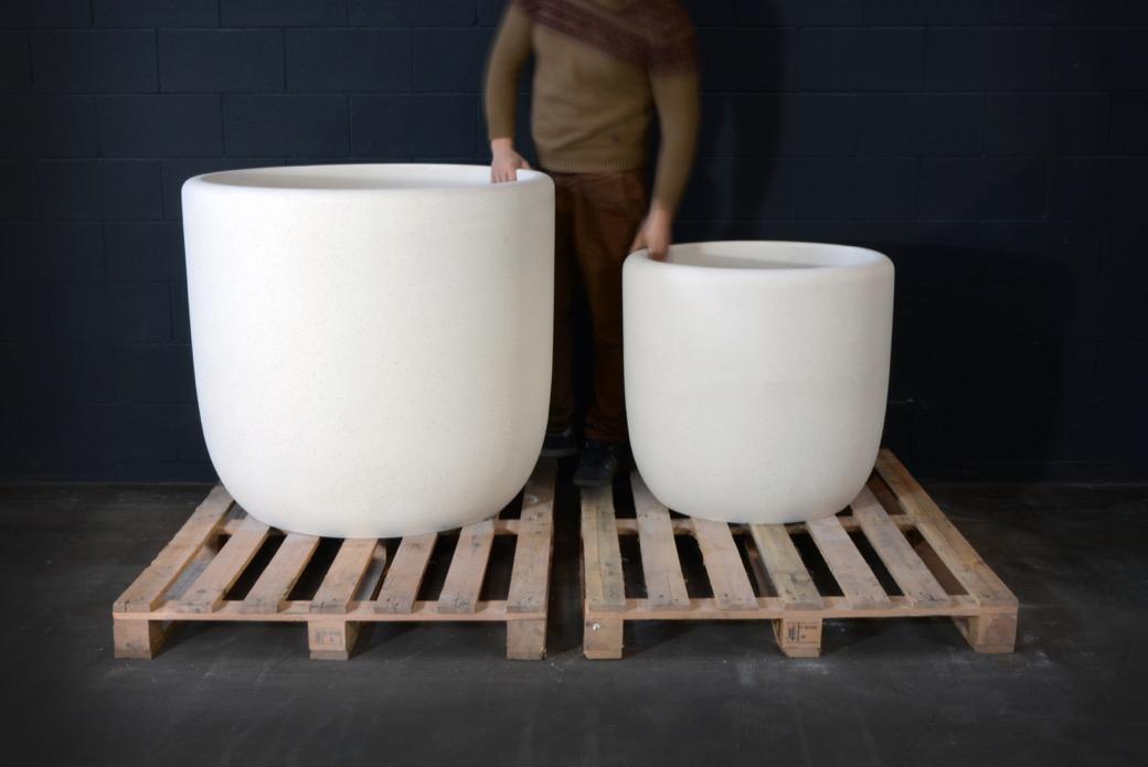 Frac plantenbak is gemaakt van UHPC-beton