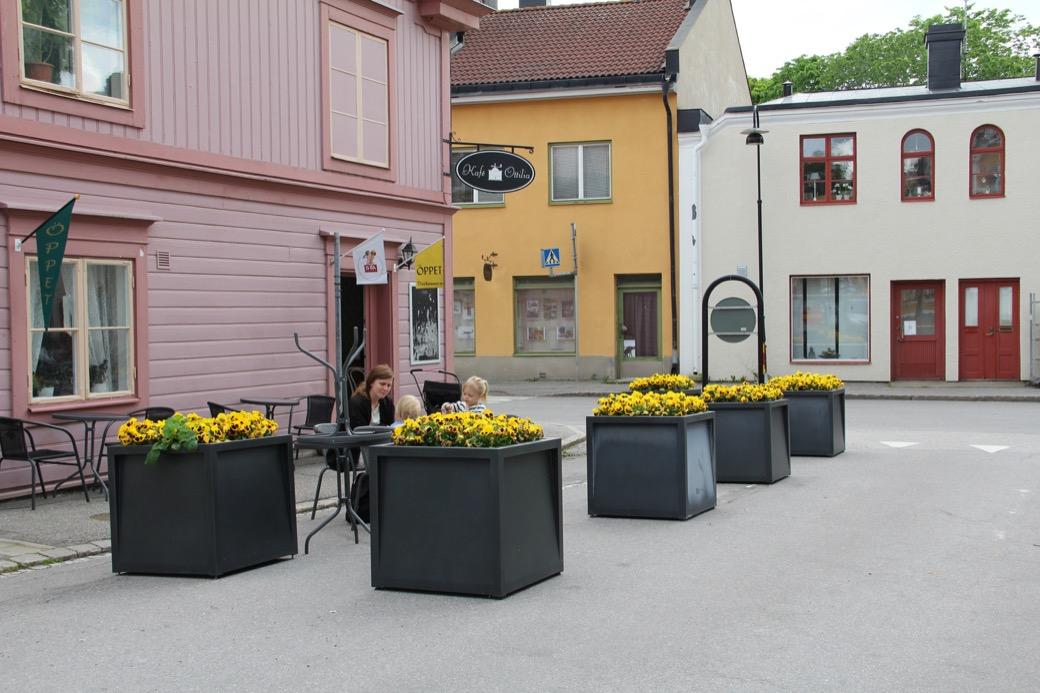 Frame plantenbak voor de openbare buitenruimte