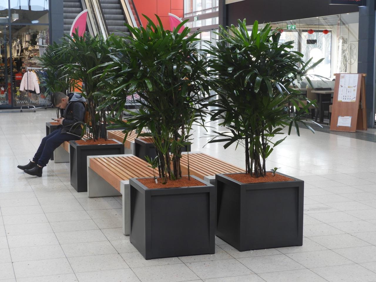 Frame plantenbak geschikt voor winkelcentra