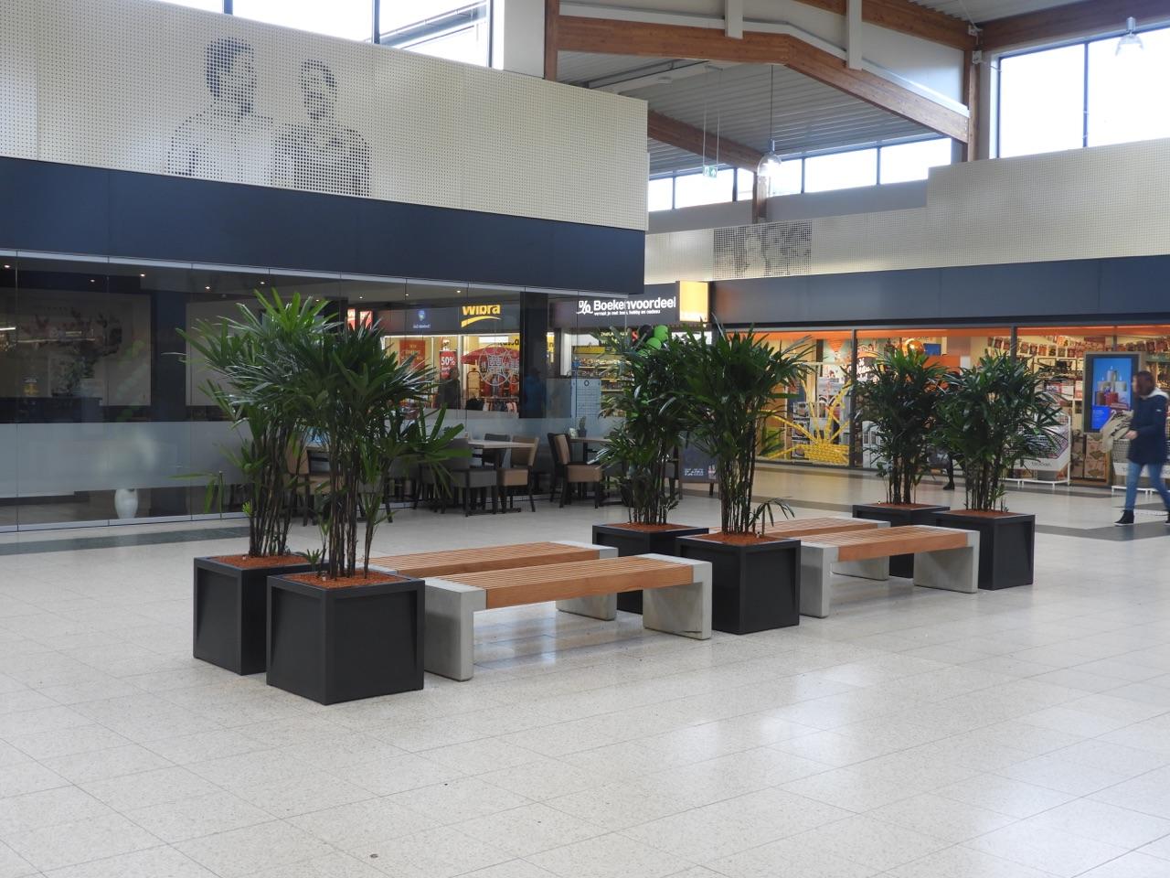 Frame plantenbak stijlvolle en robuuste plantenbak