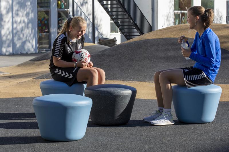 Loop Up zitelement - Kindvriendelijk door veilig afgeronde vormen
