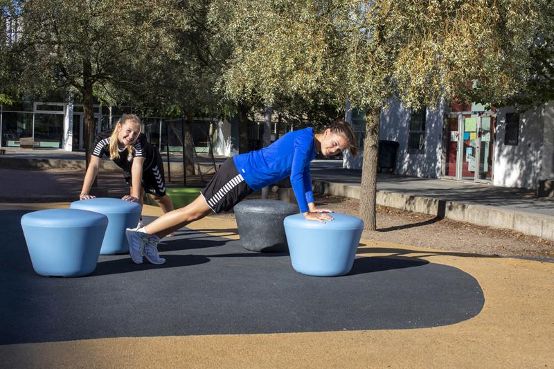 Loop Up zitelement zorgt voor een speelse en vrolijke uitstraling