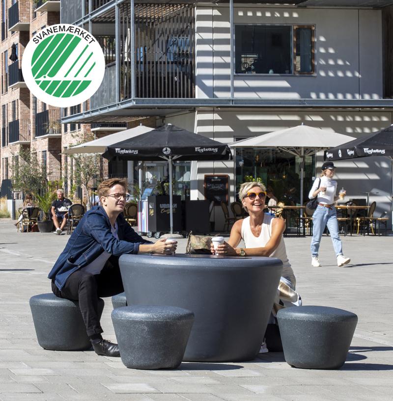 Loop Up zitelement voor een gezellige openbare ruimte