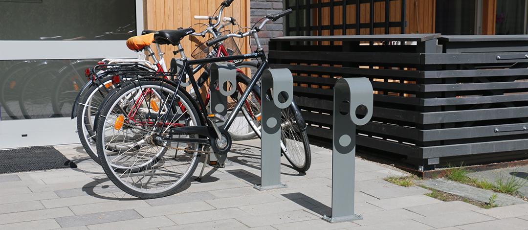 Hook fietsbeugel of fietsstandaard met een strak en modern design
