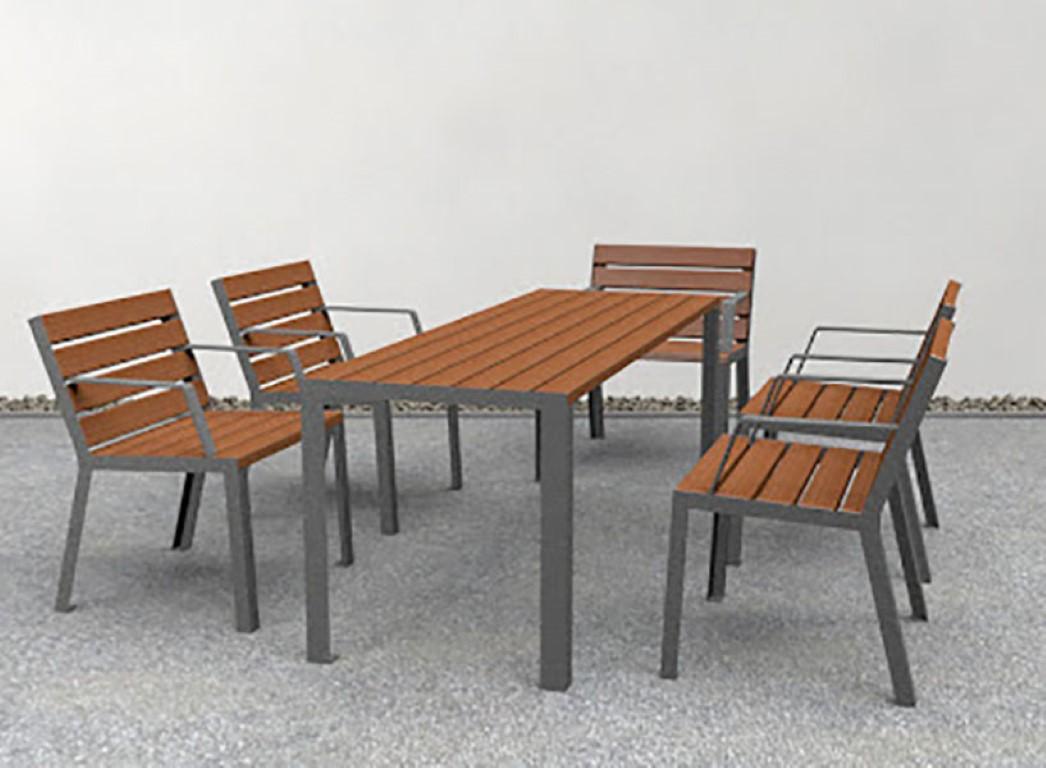 Hop Hop tafel in combinatie met de Hop Hop stoelen