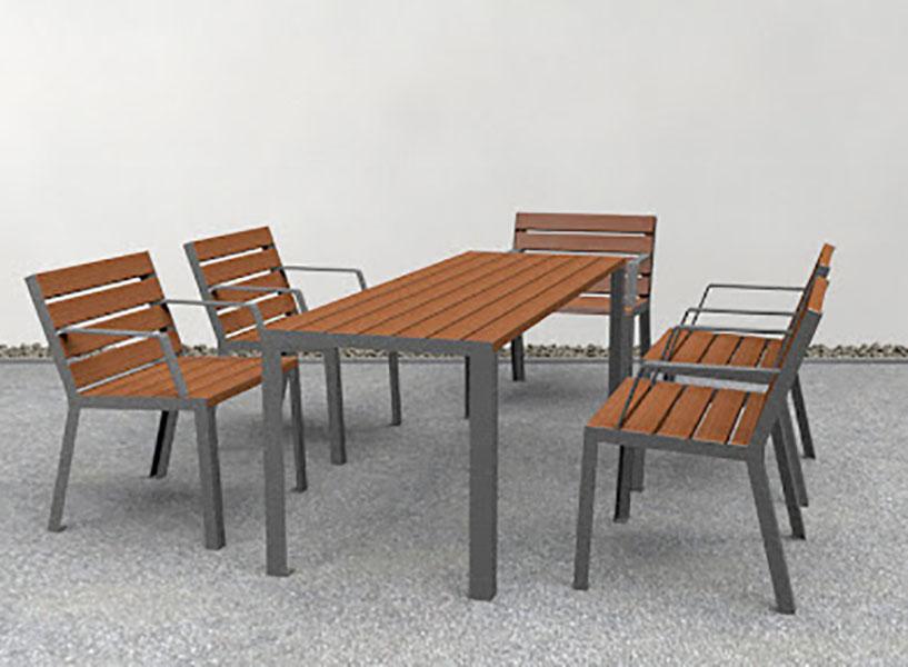 Hop Hop tafel met bijpassende Hop Hop stoelen