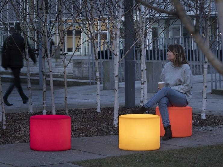 HopOp 500 Light kruk in verschillende kleuren