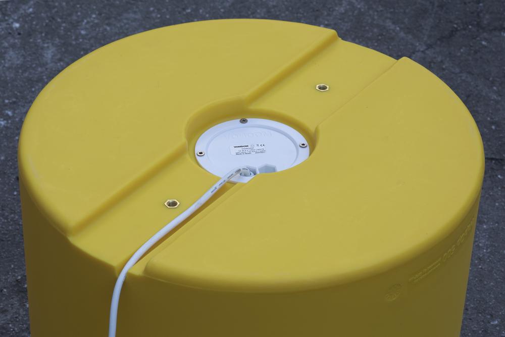 HopOp 500 Light Kruk - Led verlichting geel