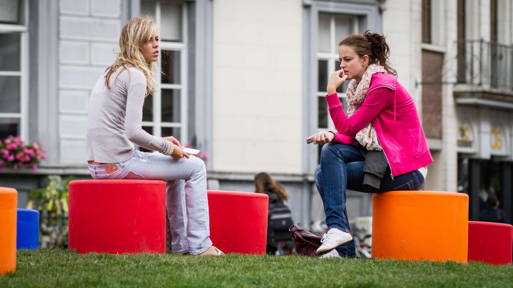 HopOp 500 kruk voor de openbare ruimte om te zitten
