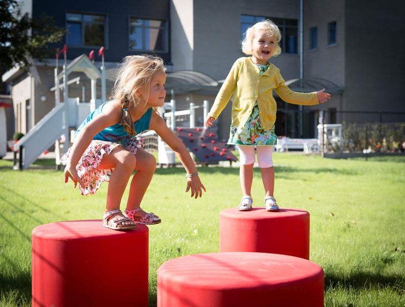 HopOp kruk geschikt voor speeltuinen en openbare ruimtes