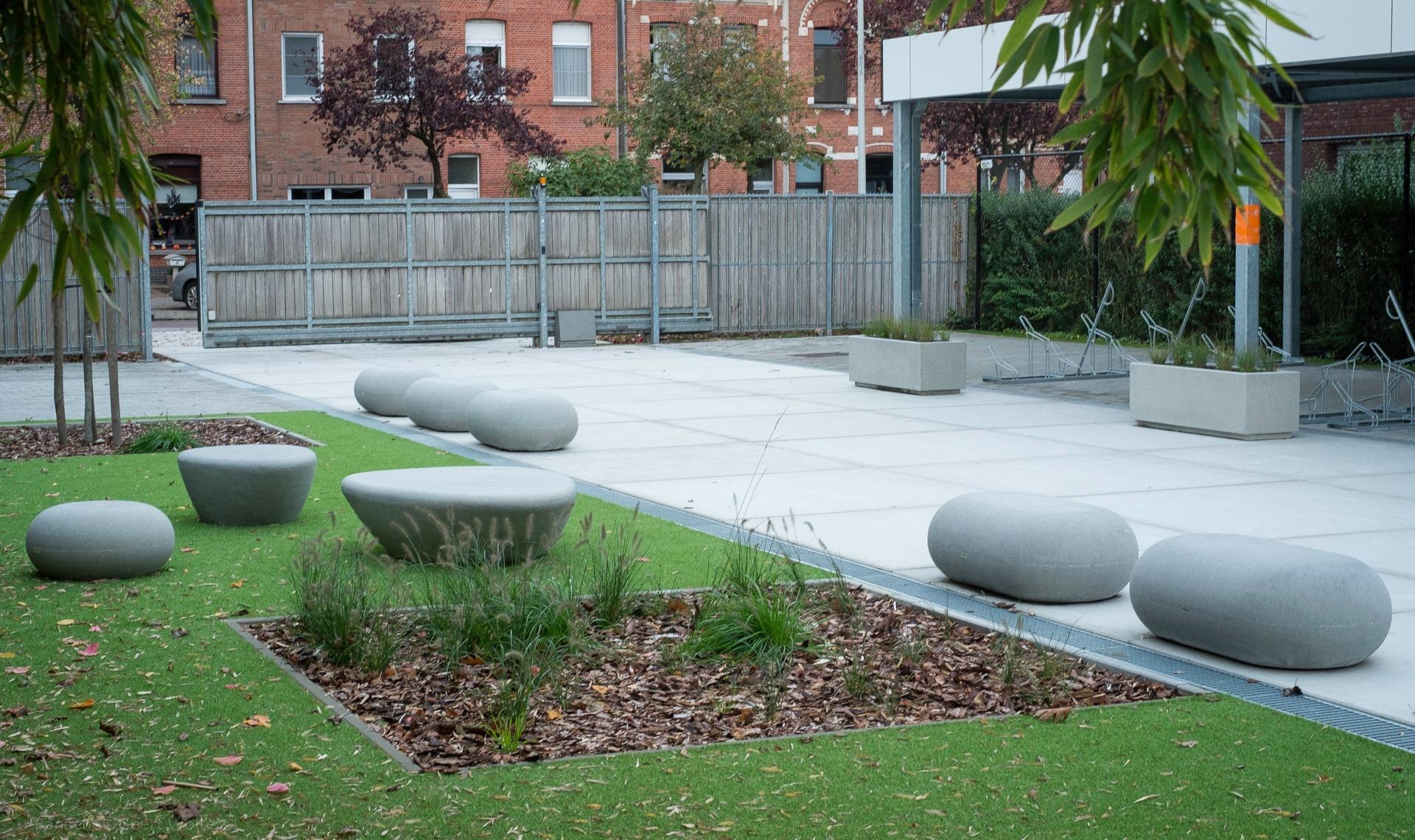 IO zitelement beton - voor alle openbare ruimtes