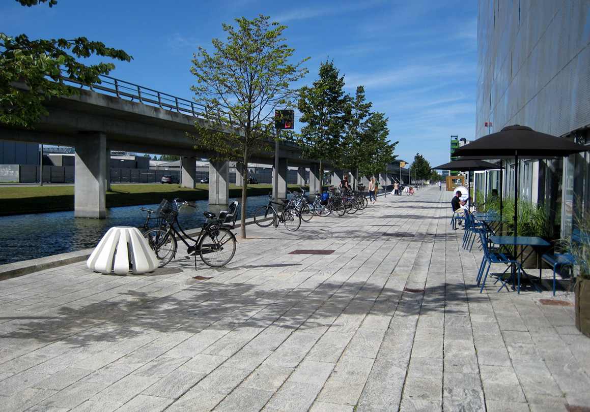 Jello fietsparkeren - modern fietsenrek wit