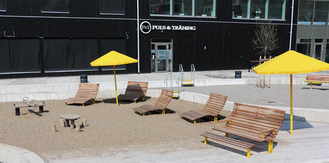 Kajen Loungebank voor een sfeervolle relaxruimte