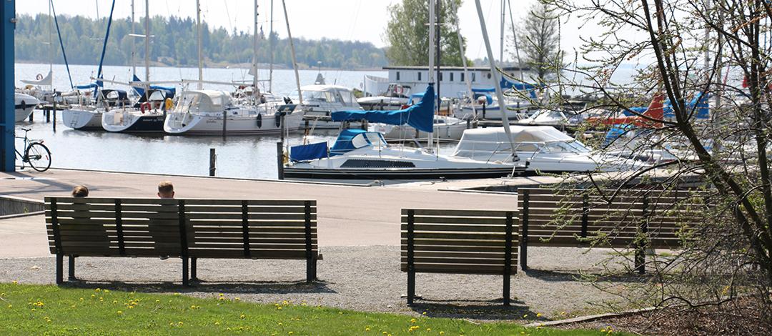 Kajen Loungebank voor havens en kades