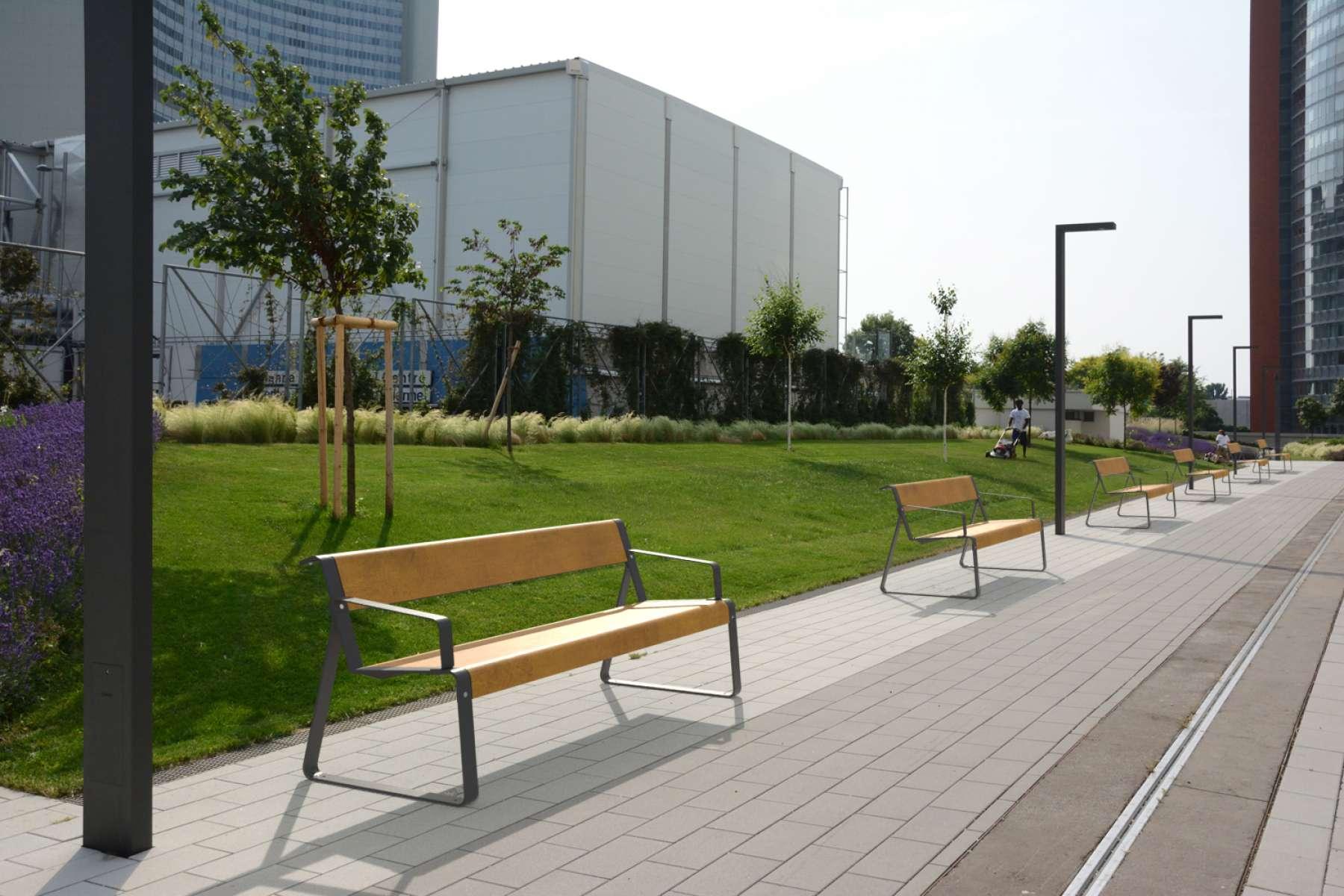 La Superfine bank straatmeubilair voor de openbare ruimte