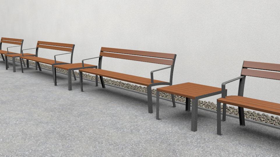 La Strada tafel - in verschillende maten beschikbaar zoals bijzettafel