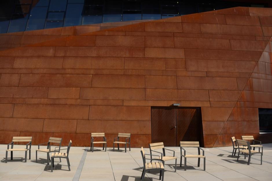 La Strada stoel voor parken, pleinen, winkelcentra en kantoren of flats