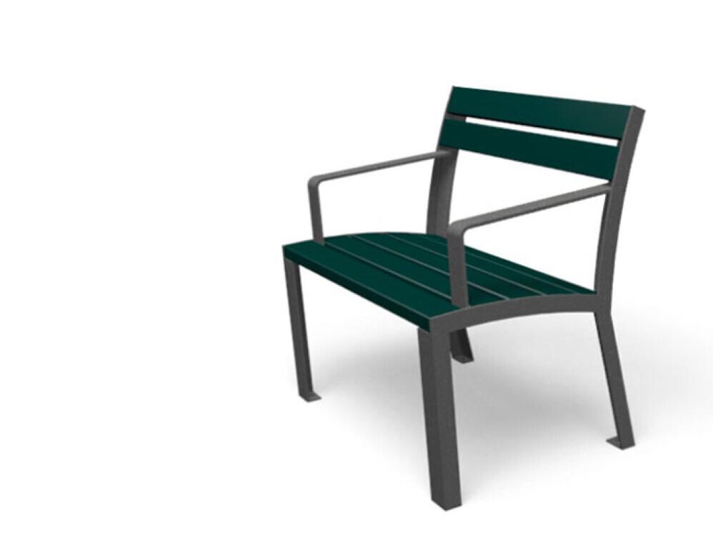 La Strada stoel hout bank bijpassende tafel bijzettafel openbare ruimte meubilair straatmeubilair inrichting kantoor entree winkelcentrum rustplek kleur rood-bruin 3 kleuren grijs