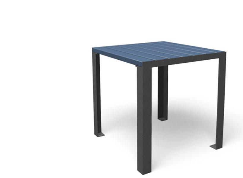 La Strada tafel als bijzettafel in blauw