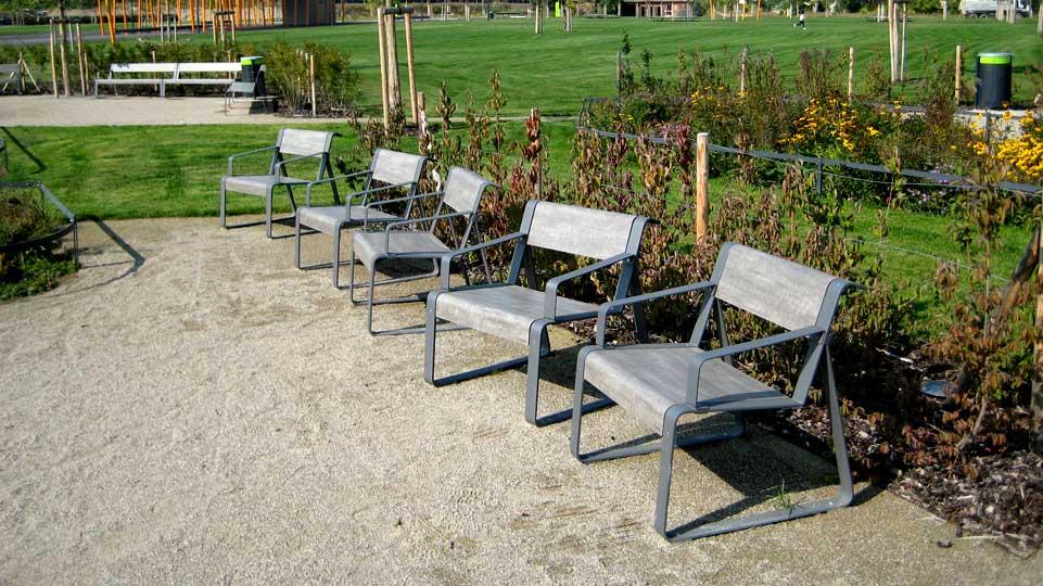 La Superfine stoel - Robuust, hufterproof en vandalismebestendig