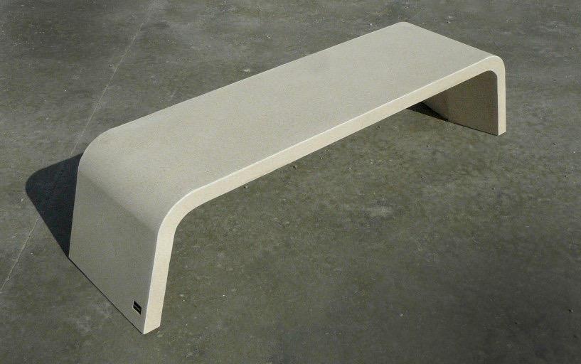 Mimetic bank beton stenen bank
