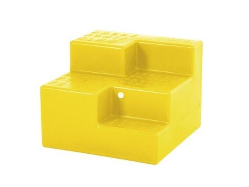 Medio's Level Ludostep speelelement - geel