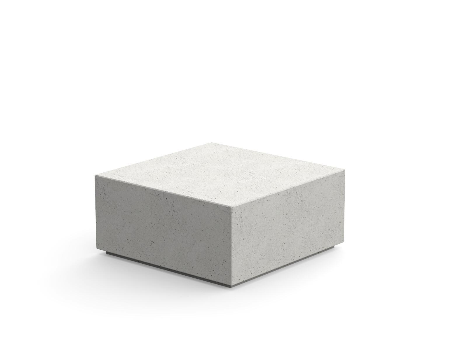 Log beton zitelement straatmeubilair van hoge kwaliteit