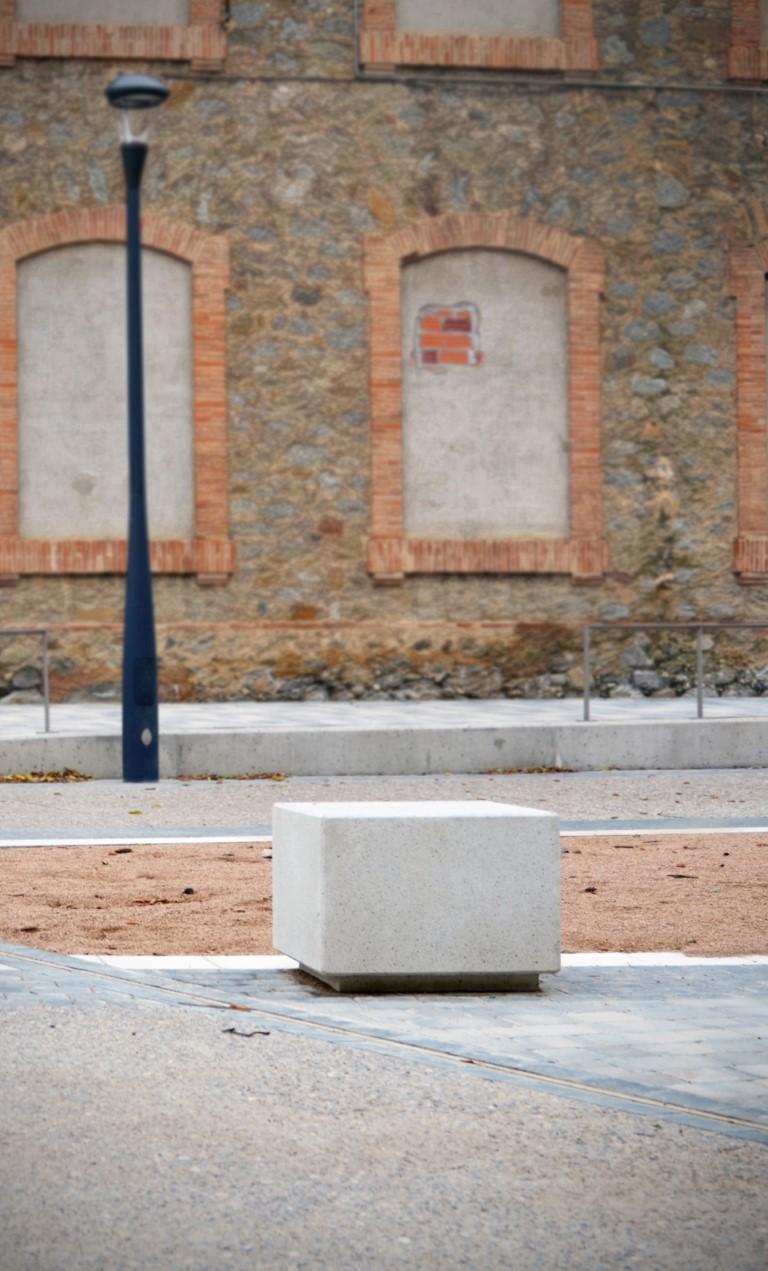 Log zitelement beton in verschillende maten