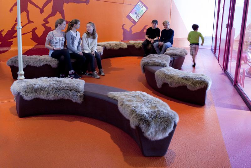Loop Arc bank voor scholen en kinderdagverblijven