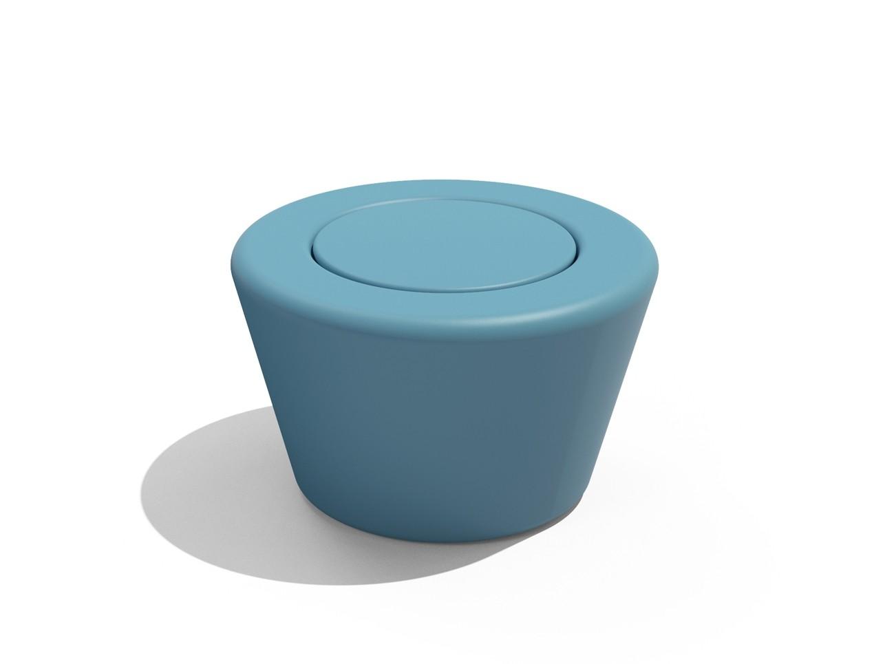 Loop Cone Tafel Lichtblauw