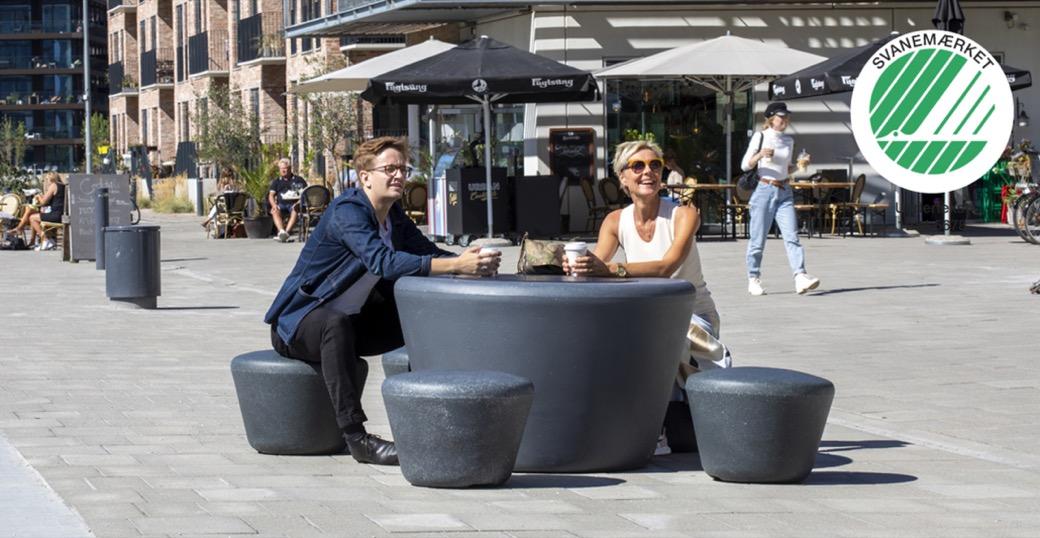 Loop Picknicktafel Up voor elke openbare ruimte