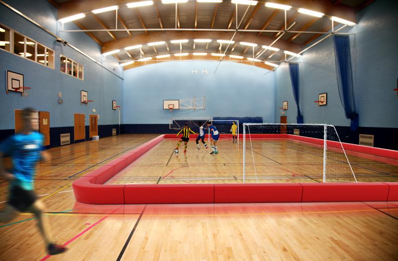 Loop Playfield Rand Sportveld geschikt voor gymzalen